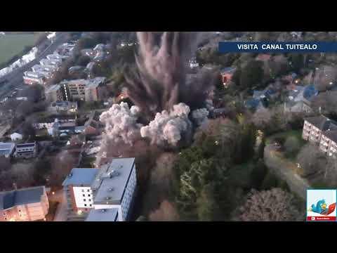 Detonación de bomba de la Segunda Guerra Mundial deja daños materiales en ciudad de Reino Unido
