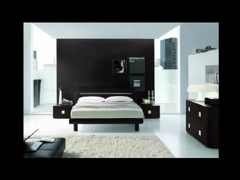 How To Decorate A Black U0026 White Bedroom Cheaply : Home Decor Tips   YouTube