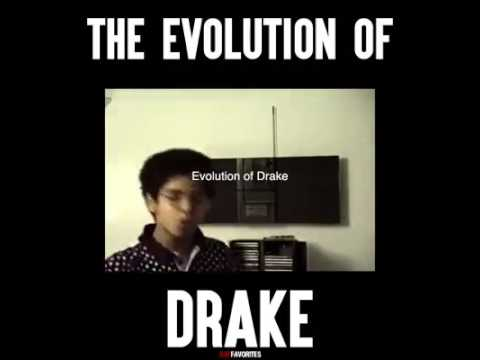 The evolution of Drake Aubrey Graham.