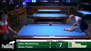 2018 US Amateur Championship - John Mitcheltree VS Brian Parks