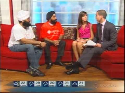 Seva Food Bank on daytime Peel (Rogers TV)
