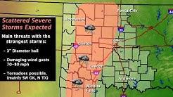 Severe Weather Update - 10AM Tue Apr 9 2013