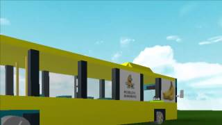 ROBLOX Commercial: Banana Bus