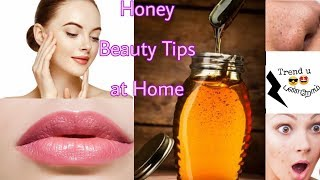Simple Honey Beauty Tips at Home/Tamil/Pimples,Dry Lips etc..