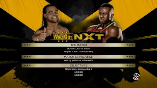 WWE 2K15 - Who Got NXT - Bo Dallas - Bo vs Big E