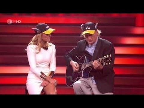 Otto Waalkes zusammen mit Helene Fischer Hänsel und Gretel Helene Fischer Show 2013