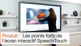 Écran tactile SpeechiTouch : un écran interactif performant