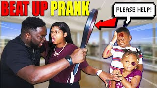 BEAT UP KIDS PRANK ON MOM *bad idea* | THE BEAST FAMILY