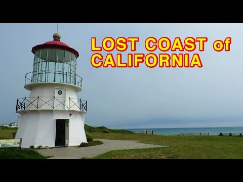 Lost Coast and Shelter Cove in California