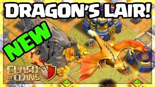 A NEW DRAGON - Clash of Clans UPDATE Gameplay - The DRAGON'S LAIR!