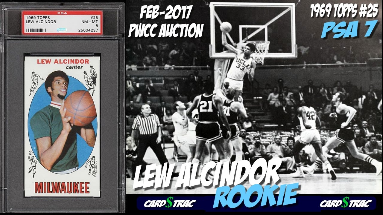 1969 Lew Alcindor Rookie Card For Sale Graded Psa 7 Pwcc Premier Auction