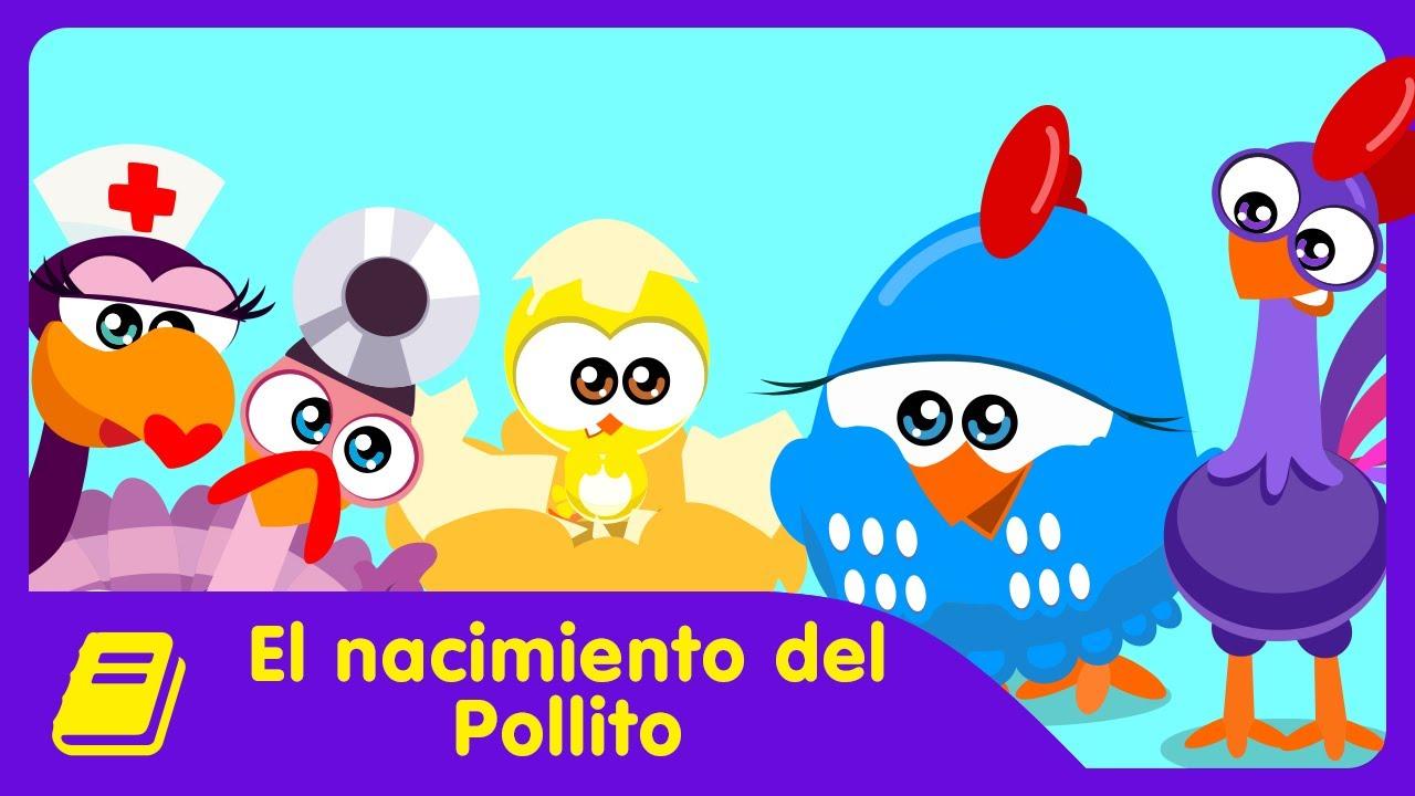 Gallina Pintadita Mini - Historieta - El Nacimiento del Pollito