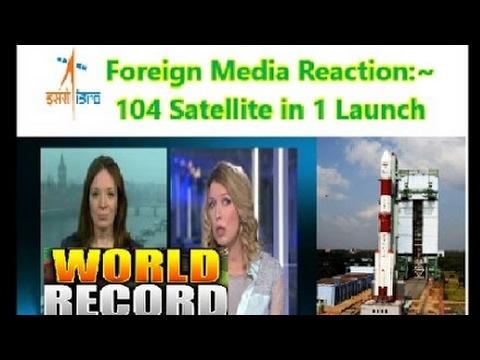 World media BBC ,Australia pressing isro on launching 104 settelite ,NASA shocked