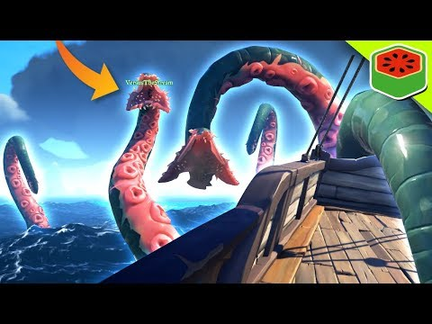 DEFEATING THE KRAKEN! | Sea of Thieves