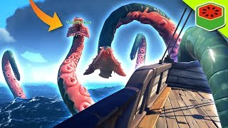 DEFEATING THE KRAKEN! | Sea of Thieves thumbnail