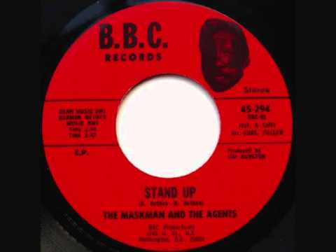The Maskman & The Agents - Stand Up - 1973