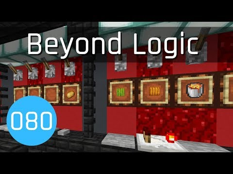 Beyond Logic #80: Control Room | Minecraft 1.13