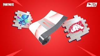 Unlocking Fortnite/Youtube GameJam SPRAY! Fortnite #36