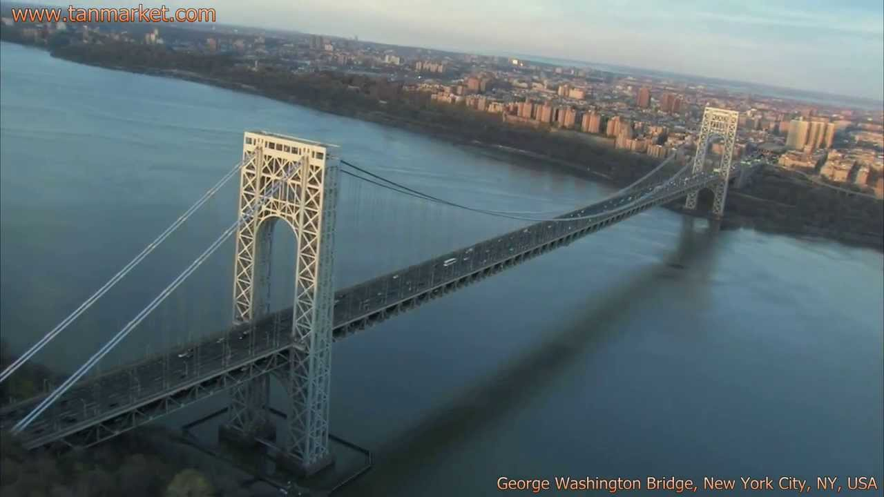 George Washington Bridge, New York City, NY, USA Collage ...