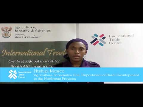 ITC-South Africa: Export Markets Research Training Programme