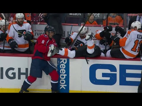 NHL: Checked Into The Bench