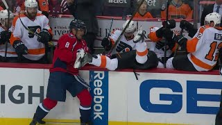 NHL Checked into Bench