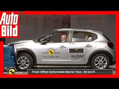 Crashtest Citroën C3 (2017) - Vier Sterne für den Citroën