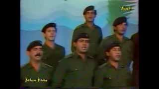 كاظم الساهر في اغنية قديمة ونادرة عن الجيش العراقي