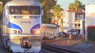Amtrak & Metrolink action in Santa Ana, CA December 20th, 2013
