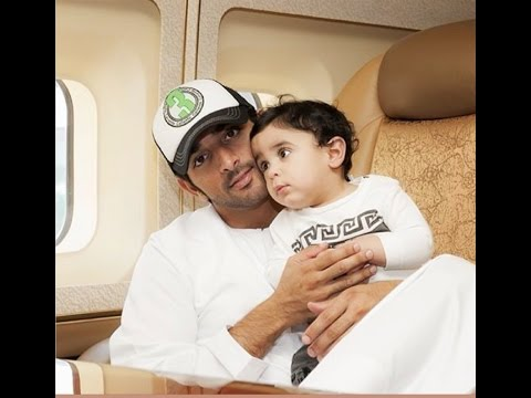 Prince Fazza (Hamdan bin Mohammed bin Rashid al Maktoum) Loves Children!