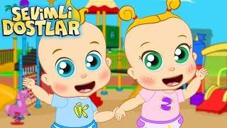 Zeynep ve Kerem Bebek ile tanışma zamanı 🎈 (YENİ) Sevimli Dostlar Bebek Şarkıları | Çocuk Şarkıları