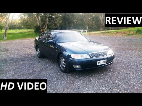 Фото к видео: 1996 Toyota Aristo Review