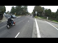 Police Pull Over Moped/Scooter with a  Side Mounted License Plate