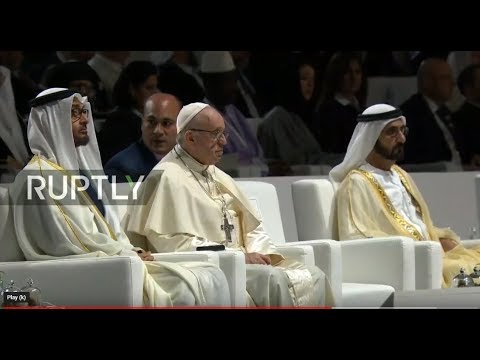 LIVE: Pope Francis pays first ever visit to Arabian Peninsula: Part 2