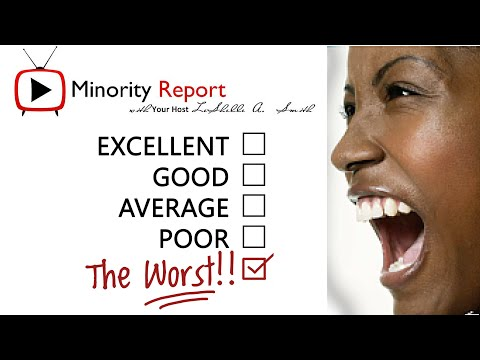 Minority Report   OMG, My Bad Black Owned Business Experience