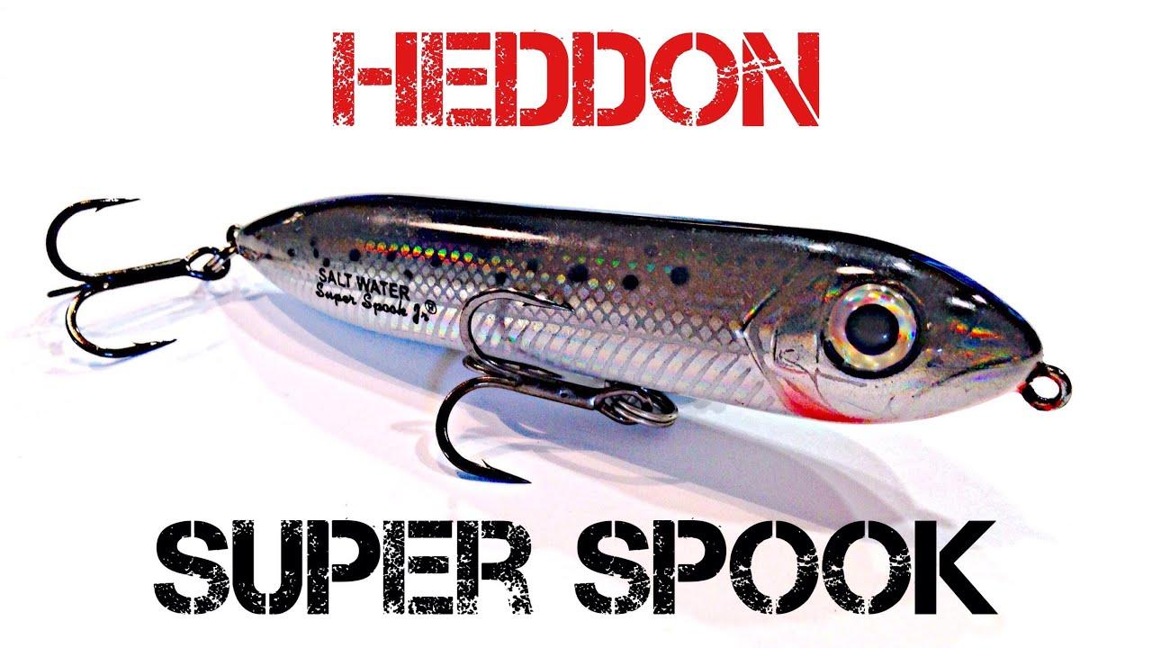 Heddon Saltwater Super Spook Fishing Lure