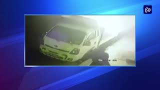 ضبط المتهم الرئيسي بقضية مهاجمة أحد المنازل وإحراق مركبة في إربد - (12-4-2018)