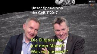 CeBIT 2017: DIE DIGISAURIER WAREN DA! Innovationen & Geschichten