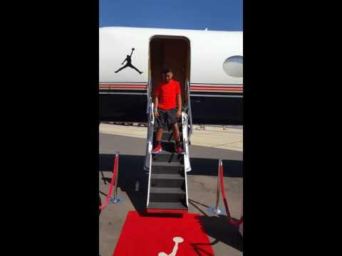 Lil Smooth on Mj private jet