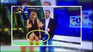 Video Oops News presenter accidentally flashes in live TV wardrobe malfunction download MP3, 3GP, MP4, WEBM, AVI, FLV November 2017