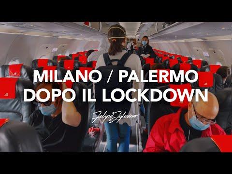 Da Milano A Palermo In Aereo Dopo Il Lockdown | COVID-19