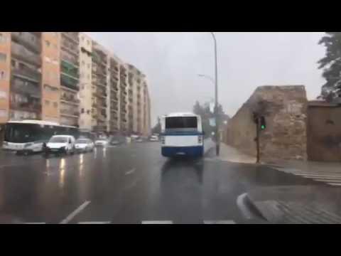 Lluvia en Salamanca 06/07/17