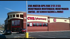 CVS Match-Ups 7/17-7/23 Moneymaker Zantac & Colgate, .49 Razors & more!!!