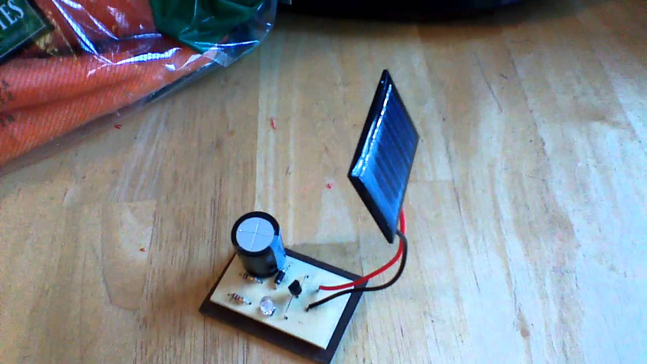 Delightful How To Make A Simple Solar Panel For Kids #7: Miniature Solar Panel - YouTube