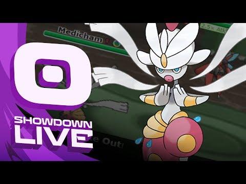 """OST Round 1"" aim vs. RainbowSlate! Pokemon Ultra Sun & Moon! OU Showdown Live w/PokeaimMD"