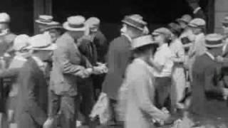 buster keaton go west 1925 busy street scene