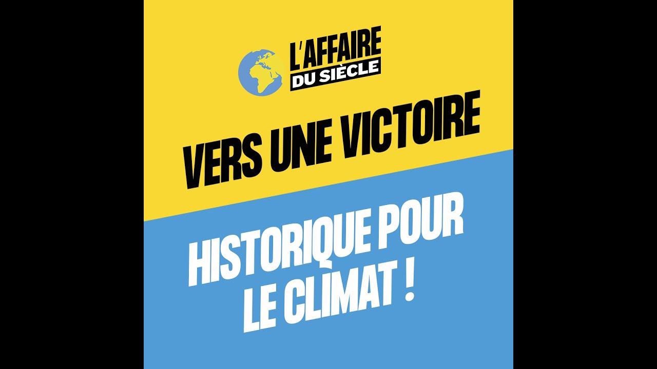 Vers une victoire historique pour le climat