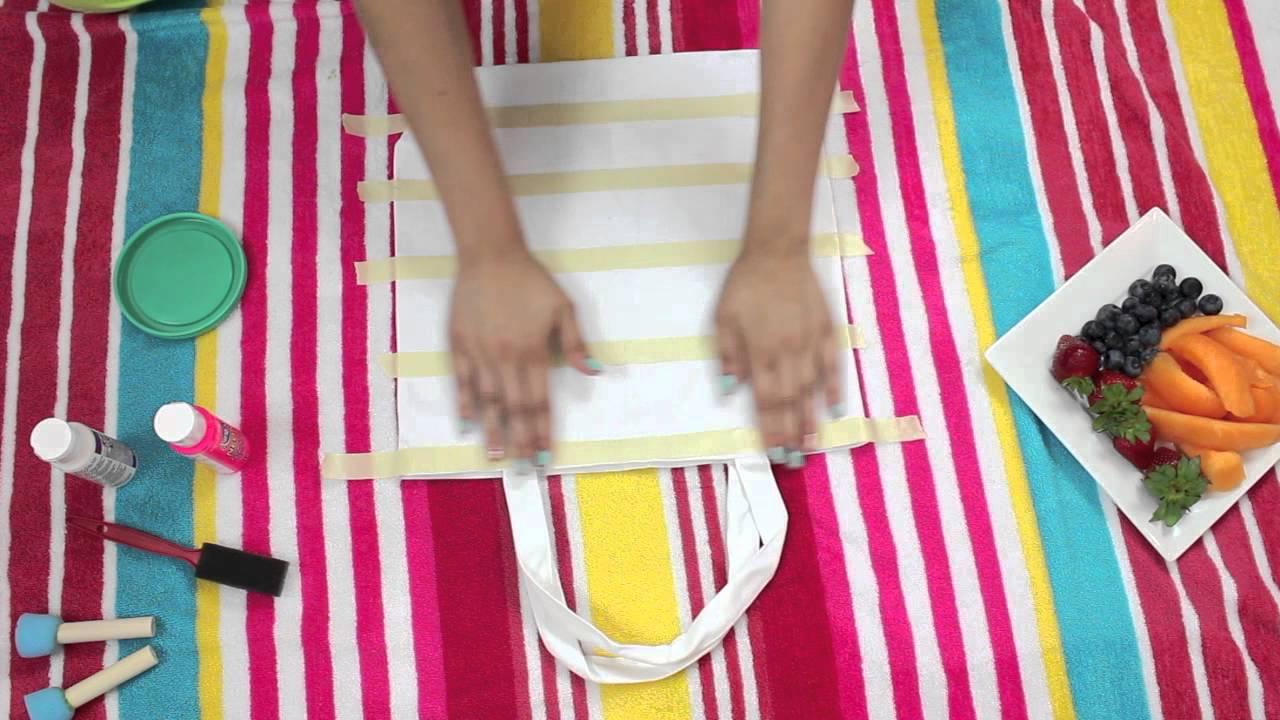 DIY Beach Bags   What's in my Beach bag! (BuyorDIY) - YouTube