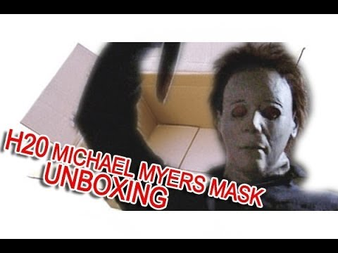 Michael Myers mask SSN H20 V2 Ben Fallaize UNBOXING - YouTube
