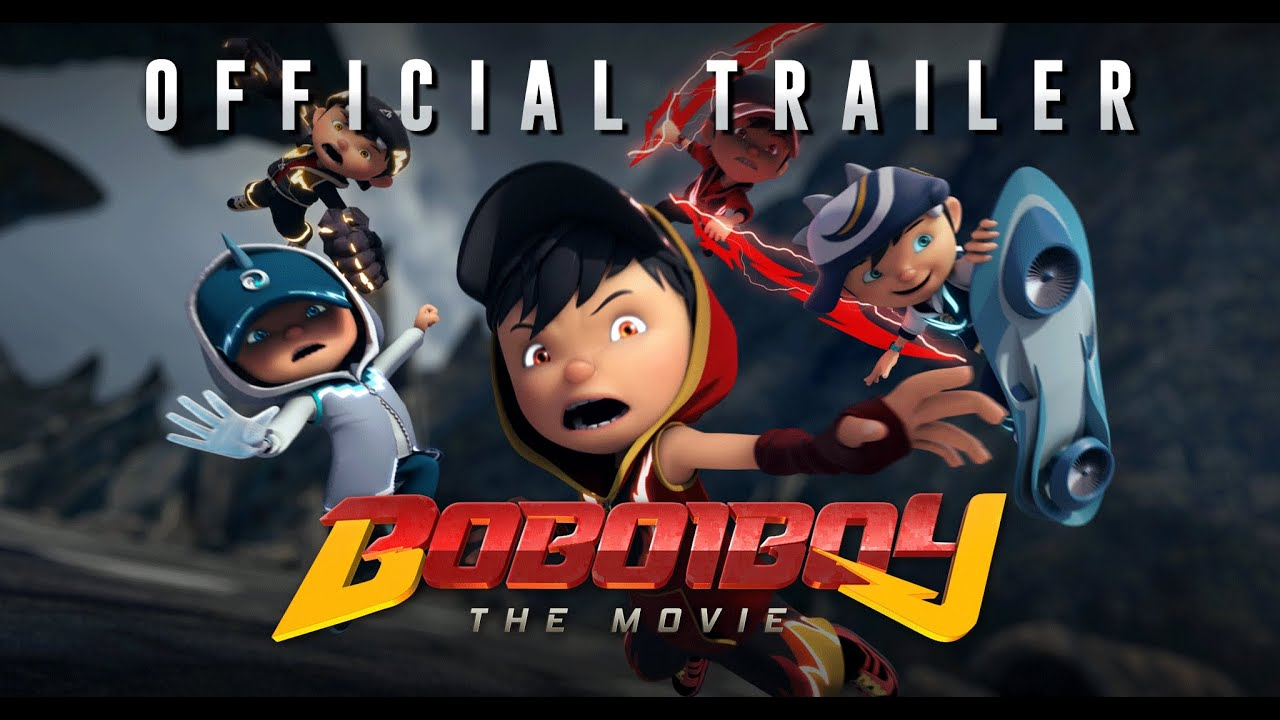 BoBoiBoy The Movie Trailer 1 3 Mac Malaysia & 13 April Indonesia